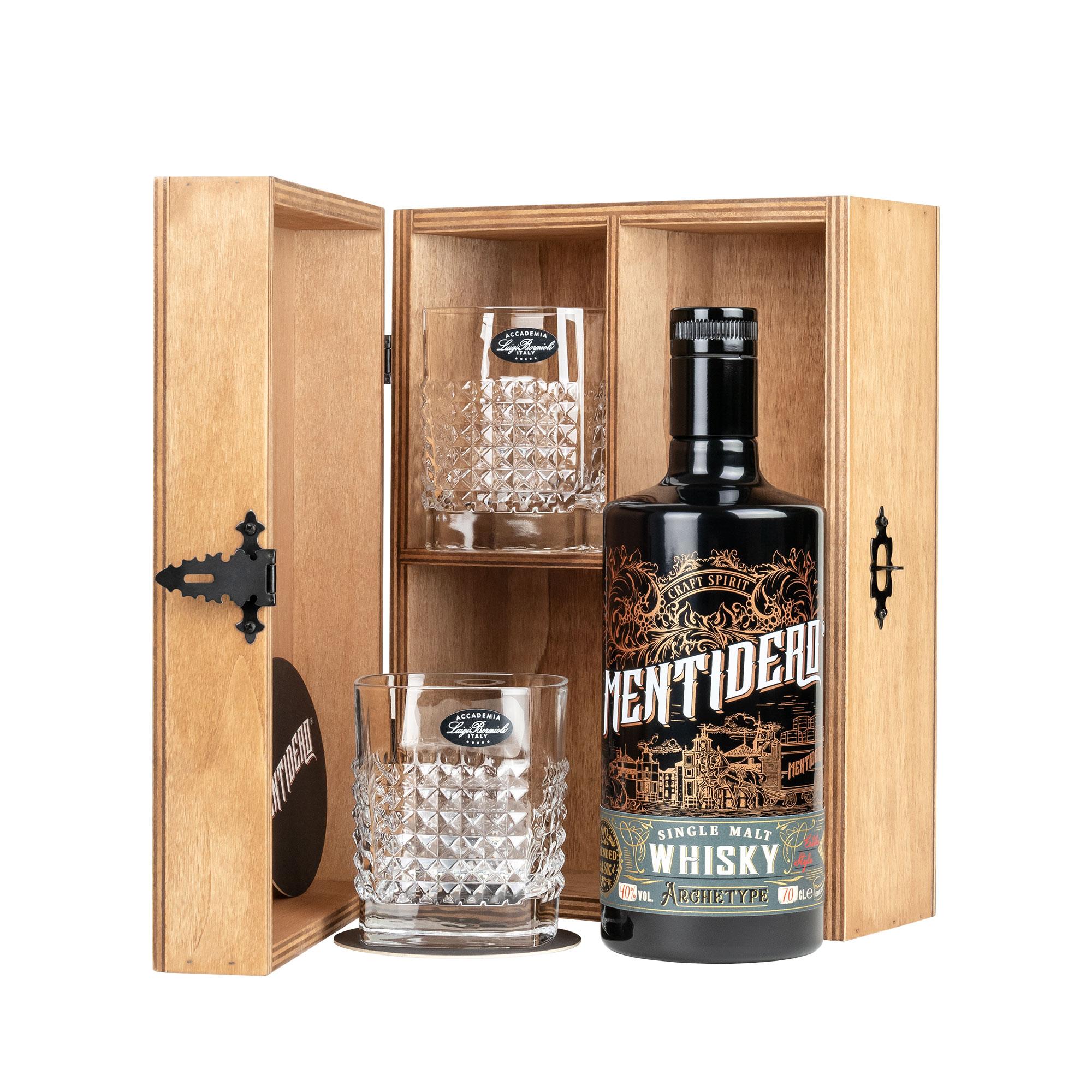 confezione regalo whisky mentidero archetype