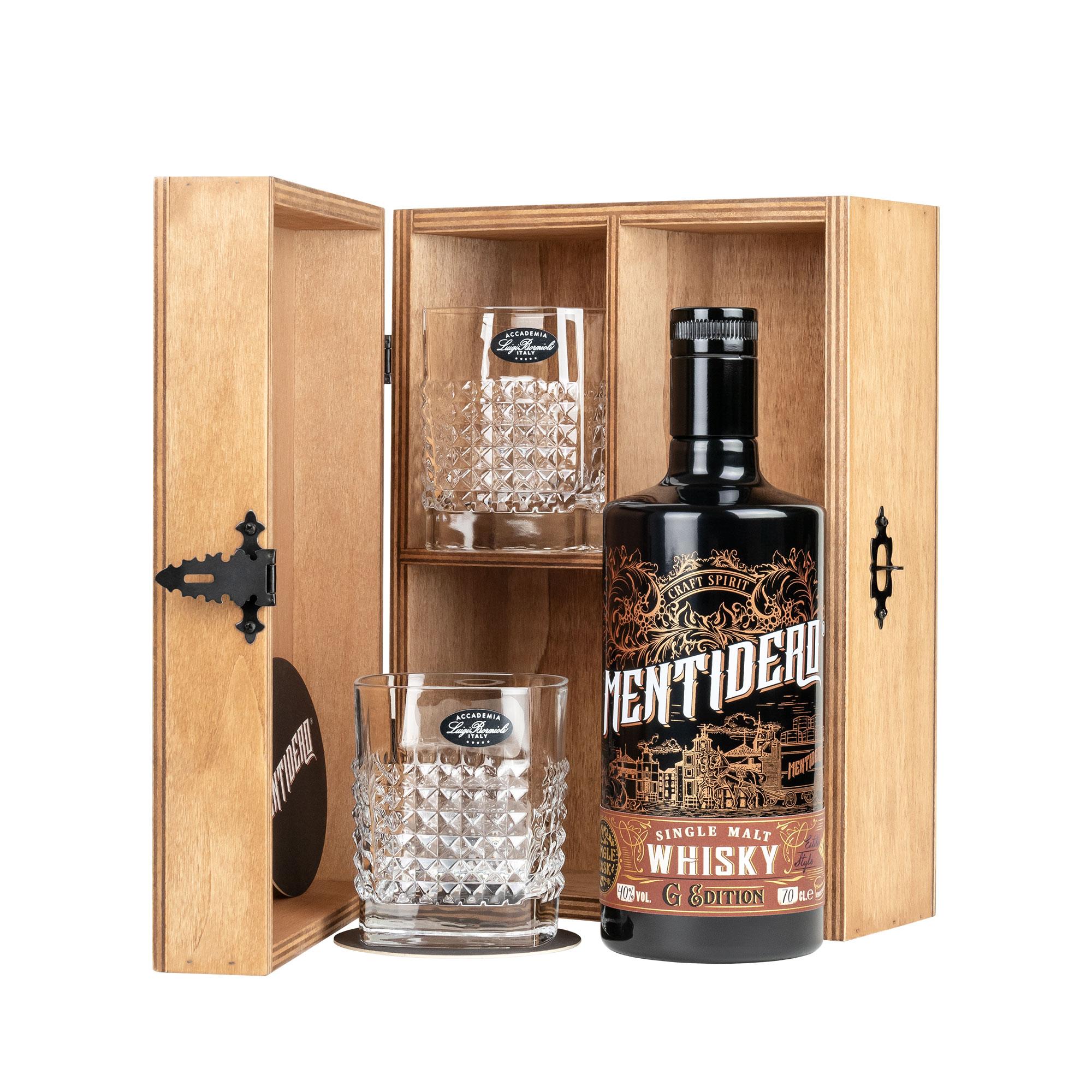mentidero whisky g edition confezione regalo